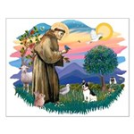 St. Francis #2 / Rat Terrier Small Poster