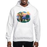 St. Francis #2 / Rat Terrier Hooded Sweatshirt