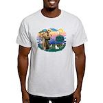 St. Francis #2 / Rat Terrier Light T-Shirt