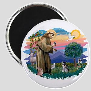 St Francis #2 /Schnauzer (min) Magnet