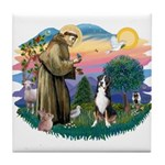 St. Francis #2 - Greater Swiss MD Tile Coaster