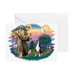 St. Francis #2 - Greater Swiss MD Greeting Cards (
