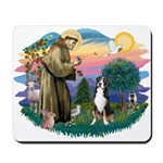 St. Francis #2 - Greater Swiss MD Mousepad