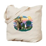 St. Francis #2 - Greater Swiss MD Tote Bag