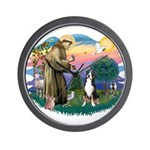 St. Francis #2 - Greater Swiss MD Wall Clock