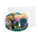 St. Francis #2 - Greater Swiss MD Greeting Card