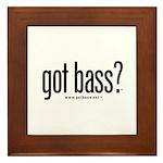 got bass?  Framed Tile