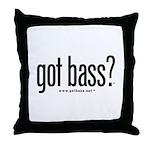 got bass?  Throw Pillow