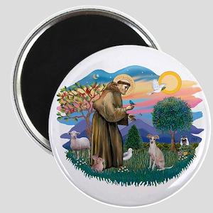 St. Fran #2/ Italian Greyhound (#1) Magnet