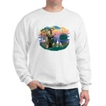 St. Francis #2 / Italian Greyhound Sweatshirt