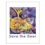 Save the Deer Small Poster