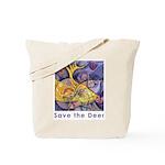 Save the Deer Tote Bag