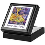 Save the Deer Keepsake Box