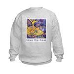 Save the Deer Kids Sweatshirt