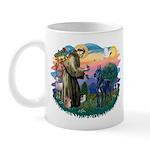St. Fran #2/ Blue Great Dane Mug