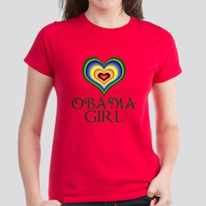 Obama Girl Women's Dark T-Shirt