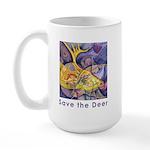 Save the Deer Large Mug