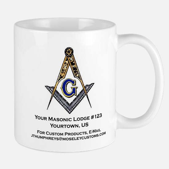 Custom Blue Lodge Products Mug