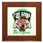 Organic Pirate Framed Tile