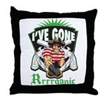 Organic Pirate Throw Pillow