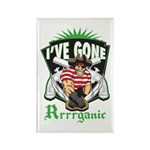 Organic Pirate Rectangle Magnet (100 pack)