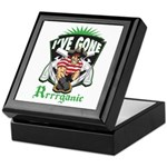 Organic Pirate Keepsake Box