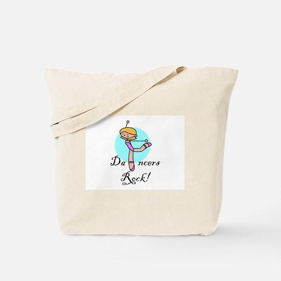 """""""DANCERS ROCK"""" Tote Bag"""