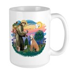 St. Fran #2/ Greyhound (lt.red) Large Mug