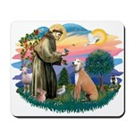 St. Fran #2/ Greyhound (lt.red) Mousepad