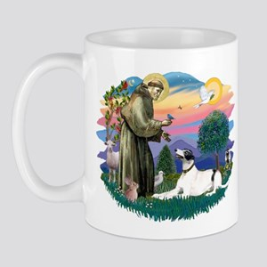 St. Fran. #2/ Greyhound (bw) Mug