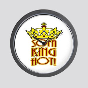 Sofa King Hot! Wall Clock