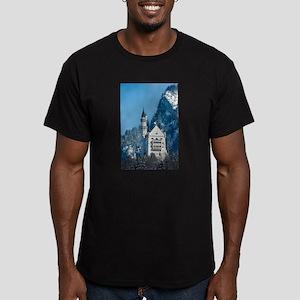 Germany Neuschwanstein Castle Men's Fitted T-Shirt