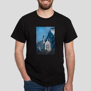 Germany Neuschwanstein Castle Dark T-Shirt