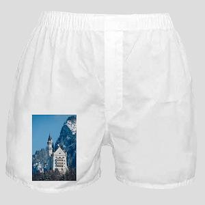 Germany Neuschwanstein Castle Boxer Shorts