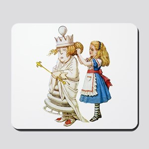 ALICE & THE WHITE QUEEN Mousepad