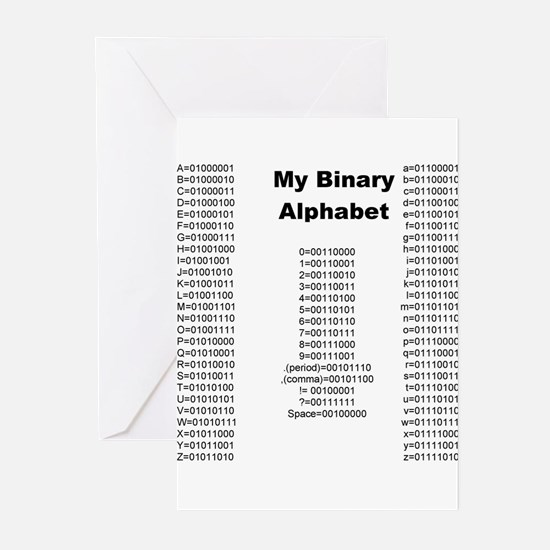Cool Alphabet Greeting Cards (Pk of 20)