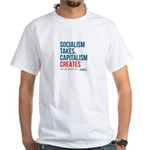Socialism Takes, Capitalism Creates T-Shirt, Men