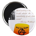 Rothbard's Button Magnet