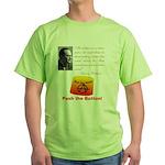 Rothbard's Button Green T-Shirt