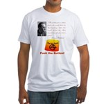 Rothbard's Button Fitted T-Shirt