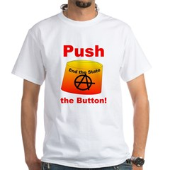 Complete with Button White T-Shirt