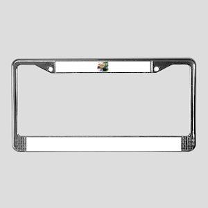 Summer Laze License Plate Frame