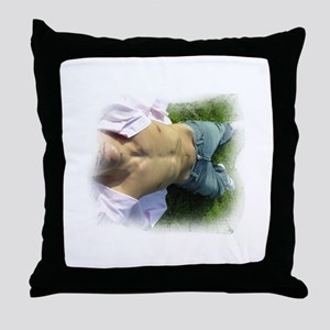 Summer Laze Throw Pillow