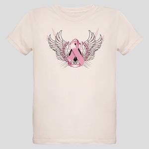 Awareness Tribal Pink Organic Kids T-Shirt