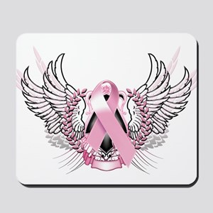 Awareness Tribal Pink Mousepad