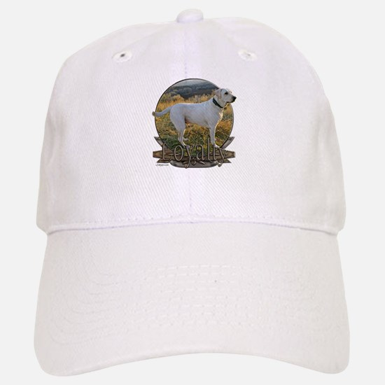 White lab loyalty Baseball Baseball Cap