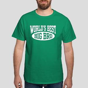 World's Best Big Brother Dark T-Shirt