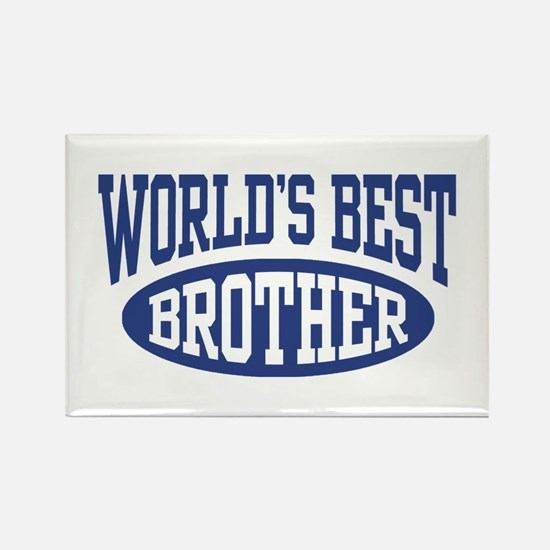 World's Best Brother Rectangle Magnet