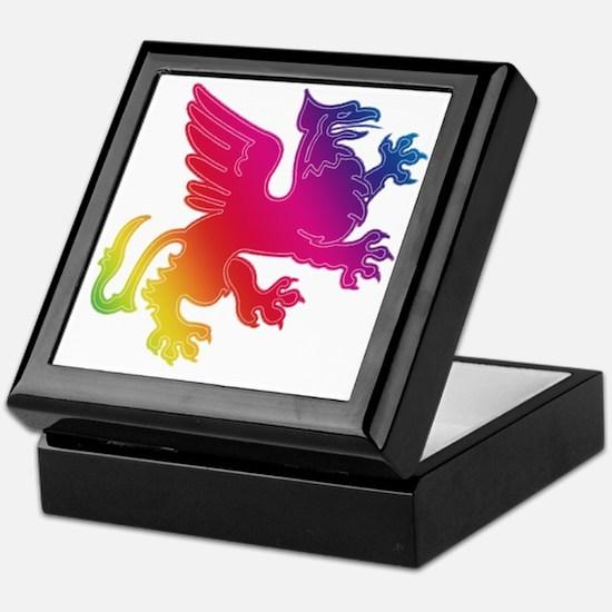 Rainbow Griffin Keepsake Box