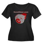 BoostGear Turbo Shirt - Women's Plus Size Scoop Ne